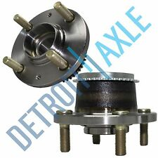 Pair: 2 New REAR 2002-07 Lancer ABS Complete Wheel Hub and Bearing Assembly