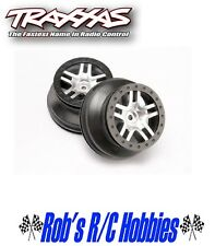 TRAXXAS SCT Split Spoke Chrome Wheel (2): Rear 2WD SLH, SLH 4x4 (TRA6872)