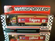 Mark Martin #6 Folgers Coffee 1991 1:87 Racing Team Transporter Matchbox