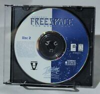 Descent Freespace The Great War DISC 2 ONLY Replacement PC Windows Interplay