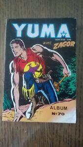 ALBUM YUMA N°70  LUG 1984 TBE++ (261-262-263)