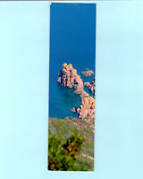 BOOKMARK Corsica French France Porto Vecchio Sea Rock Souvenir Gift Him Her