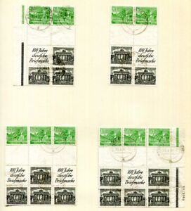 BERLIN 1949-1952 SUPERBE gestempelte ZUSAMMENDRUCK SAMMLUNG ca 26000€+++(86247d