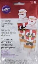Santa Christmas Treat Pop Decorating Kit from Wilton #1944 - NEW