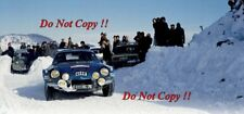 Jean-Luc Therier Alpine-Renault A110 1800 Monte Carlo Rally 1973 Photograph 1