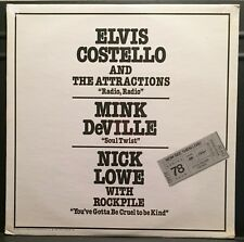 Elvis Costello/Nick Lowe SEALED 1978 USA Colored Vinyl Tour PROMO LP