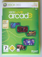 PRL) XBOX 360 VIDEO GAME LIVE ARCADE COMPILATION DISC MICROSOFT GAME STUDIOS