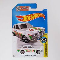 Hot Wheels 2015 - Speed Graphics 70 Ford Escort RS1600 - 10 / 10 1:64