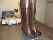 Pikolinos Ladies Brown Leather Boots Size 3UK. 37EU