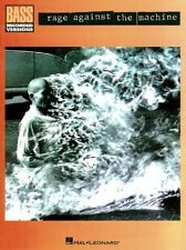 RAGE AGAINST THE MACHINE FOR BASS GUITAR TAB BOOK