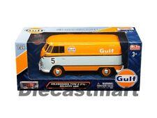 VOLKSWAGEN Type 2 Delivery Van Scale 1 24 Gulf Diecast Model VW Kombi Models