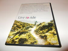 DVD LIVE TO RIDE The Heart and Soul of Mountain Biking Gee Atherton Chris Smith