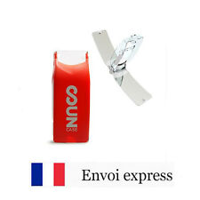 Briquet Solaire SUNCASE - Rouge - Ecologique - solar lighter red