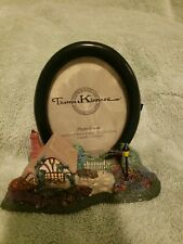Thomas Kinkade Chandler'S Cottage Sculpted Photo 3x5 Picture Frame Used