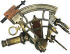 Brass Sextant with Box J. Scott London , Nautical Maritime Gift, Navigational