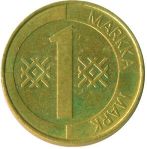 Finland, 1 MARKKA, 1997           #WT10219
