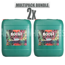 Canna Boost 10 Liter 2 Pack Hydroponic Nutrient Bloom Enhancer Accelerator 20L,
