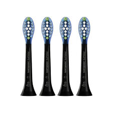 4-Pack Philips Sonicare C3 Plaque Control Black Tooth Brush Heads | w/o Box