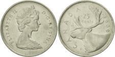 Canada 1969 25 Cent Non Silver Coin Rare.