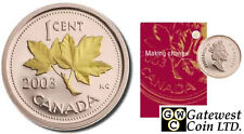 2003 RCM Annual Report (issued in 2004) with Gold-Plated 1ct (10851)