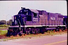 Original Slide Illinois Central Diesel Engine #9631 Mobile, AL (1992) CC#166