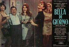 BELLE DE JOUR Italian fotobusta photobusta movie poster 7 DENEUVE LUIS BUNUEL