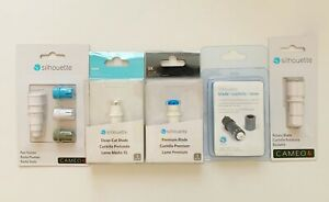 LOT OF 5 SILHOUETTE CAMEO 4 ROTARY BLADES SEALED *NEW *FREE SHIP!