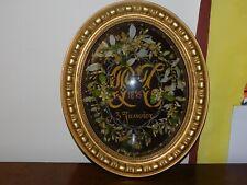 globe de mariée  ancien, sous verre, couronne de mariée, fleurs d'oranger