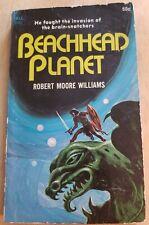 Beachhead Planet Robert Moore Williams 1970 Dell Vintage SciFi Paperback Good