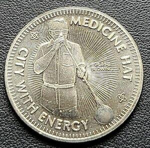 1976 Medicine Hat Alberta $1 Trade Dollar - City with Energy