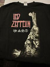 Led Zeppelin Zoso T Shirt Medium Black
