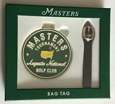 Masters golf bag tag augusta national 2021 masters pga new
