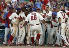 "Jim Thome- 11"" x 14"" Photo- Philadelphia Phillies Baseball- 2012"