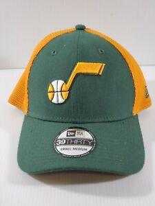 New Era 39Thirty Utah Jaz S/M NBA Performance Stretch Fitted Hat  ~NEW~