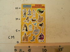 STICKER,DECAL SHEET WITH STICKERS INTRODUCT DISNEY POCAHONTAS BOEKENCLUB