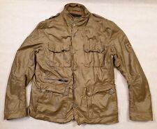 Firetrap Green Double Fronted Jacket Five Pockets 55% Linen 45% Cotton Size XXL