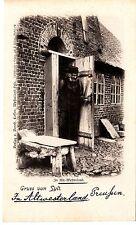 Gruss von Sylt AK um 1900 Westerland Bauer Kate Schleswig-Holstein 1502365