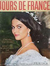 JOURS DE FRANCE : 1962 N 413 CLAUDIA CARDINALE, LE PLUS BEAU BAL DU MONDE