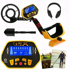 Pro Ground Waterproof Metal Detector Gold Finder LCD Display Shovel Search Coil*