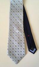 Tommy Hilfiger Blue Silk And Linen Tie