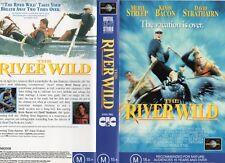 THE RIVER WILD - Meryl Streep - VHS -PAL -NEW -Never played!-Original Oz release