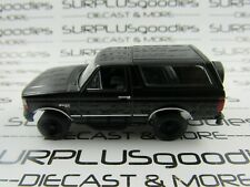 Greenlight 1:64 Scale LOOSE Murdered Out Black 1994 FORD BRONCO 4X4 w/Tow Hitch