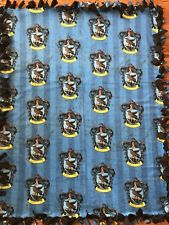 Harry Potter Ravenclaw Fleece Tie Blanket