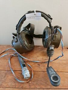 British Army Amplivox/Racal/Clamsman Radio Headset C6