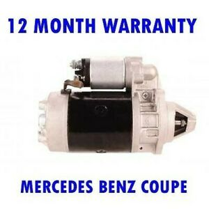 FITS MERCEDES BENZ COUPE 300 C 1981 1982 1983 1984 1985 STARTER MOTOR