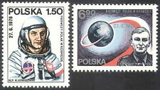 Polonia 1978 Space Flight/astronauti/Globo/ORBIT/Persone/SCIENZA Set 2 V (n23478)