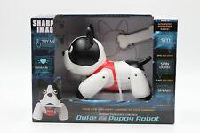 French Bulldog 'Duke' Robotic Puppy Sharper Image Trainable Robot Voice Control