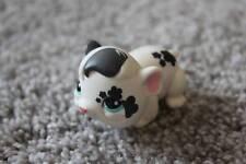 Littlest Pet Shop Black & White Hamster #1394 Flower Blue Eyes LPS Girls Toy Fun