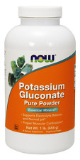 Potassium Gluconate - 100% Pure Powder - 1 lb (454 g) - NOW