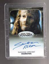 Star Trek 50th Anniversary Sandra Nelson autographed card #2
